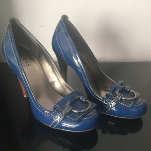 GUESS by Marciano blue heels